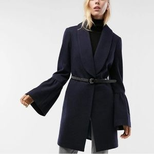 NWT Express Bell Sleeved Coat
